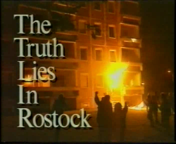 Pogrom in Rostock-Lichtenhagen 1992